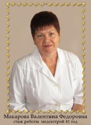 Макарова Валентина Федоровна